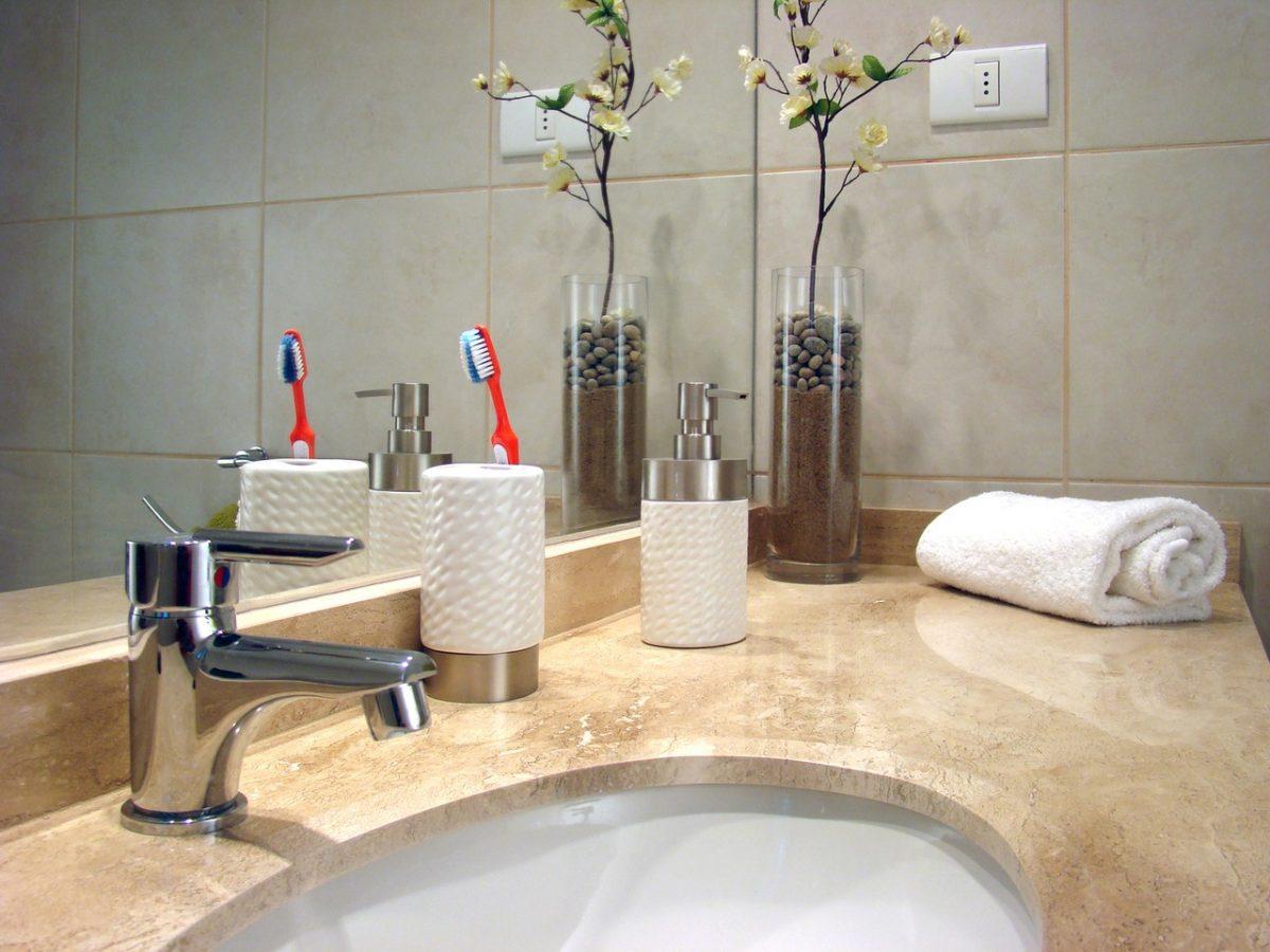 W łazience też mogą się znaleźć różne dekoracje